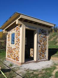 Cool Shed Ideas Captivating Stack Stone Wall Facade For Small Shed Ideas With