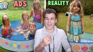 ads vs reality funny or sad youtube