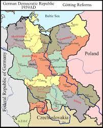 Czechoslovakia Map Motf 138 Greater But Smaller Ddr By Samuel Von Strasburg On