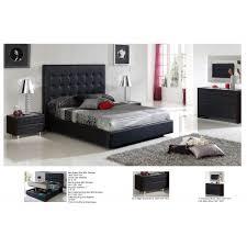 Penelope Murphy Bed Price 622 Penelope Bedroom Set Black Bed 2 Nighstands Dresser And