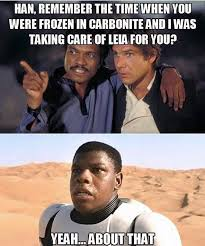 Lando Calrissian Meme - looks like everyone is related in star wars dhtg