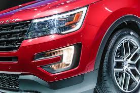 Ford Explorer Headlights - 2017 ford explorer sport front light carsautodrive