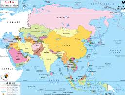 map asie asia map and capitals travel maps and major tourist attractions maps