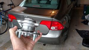 2006 2011 honda civic rear wheel bearing hub replacement drum