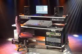 m rack recording studio furniture 3 4ss deep studio desk
