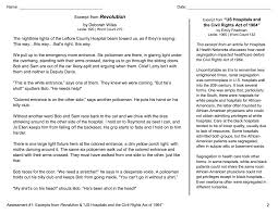 Fiction Vs Nonfiction Worksheet Rl 7 9 Compare Fictional And Historical Accounts Reading