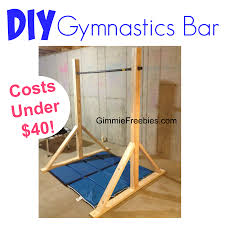 At Home Diys by How To Make A Gymnastic Practice Mini Bar At Home For 40 Diy