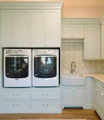 laundry room no more back pain with these lifted machines best