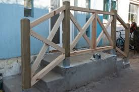 how to build deck stair railings howtospecialist how to build
