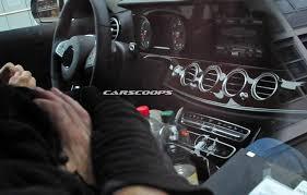 mercedes benz e class interior scoop 2017 mercedes benz e class gets classy s class style interior
