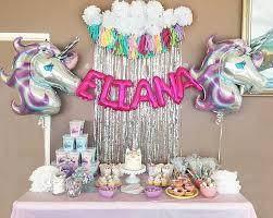 unicorn party supplies unicorn balloon paper tassel garland party supplies
