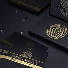 shop customized business cards classical style