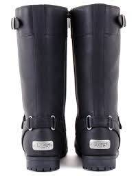 motorcycle boots australia ugg australia gershwin boots black accent clothing