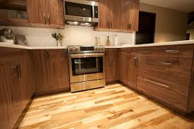 akurum for a modern kitchen with a cabinet doors and walnut ikea