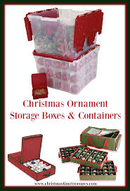ornament storage boxes and containers
