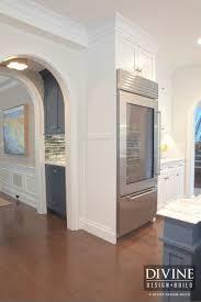 kitchen glass door beverage refrigerator with glass door