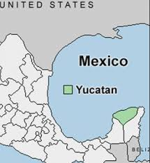 map of mexico yucatan region yucatan state mexico and the mayans go gringo