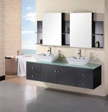 wall mounted sink vanity portland 72 double sink wall mount vanity set in espresso