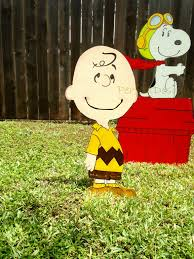 Charlie Brown Christmas Tree Lawn Ornament by The Christmas Tree Movie Christmas Lights Decoration