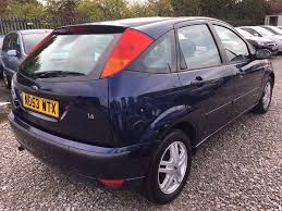ford focus 1 6 i 16v zetec hatchback 5dr petrol manual long mot