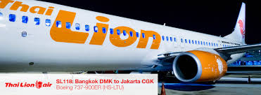 lion air report thai lion air 737 900er from bangkok dmk to jakarta cgk