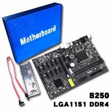 carte mere ordinateur bureau b250 btc 12 carte lga1151 ddr4 professionnel ordinateur de bureau
