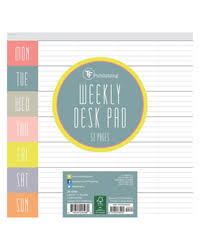 Weekly Desk Pad Calendars Franklincovey