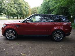 land rover range rover sport used chile red land rover range rover sport for sale hertfordshire
