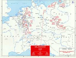Maps Of Germany by Map Of The German Invasion Of Poland September 1939