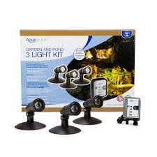Landscaping Lighting Kits by Pond Lights Garden Lighting Led Pond Lights Aquascape