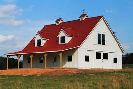 Building A Pole Barn Home Outstanding 36 48 Pole Barn Home W Porch Hq Pictures Metal