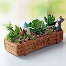 vintage garden supplies wooden garden planter window box trough