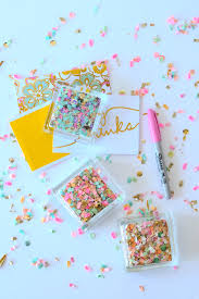covered in confetti our favorite confetti diy projects beau