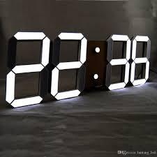 Design Home Decor Wall Clock by Modern Digital Wall Clock Modern Wall Clock Home Design By Fuller