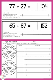 addition with and without regrouping two digit addition assessments activities