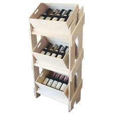 Wooden Box Shelves by Wooden Display Stand U0026 3 Piece Box Set Retail Display Solutions