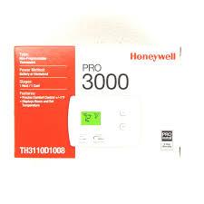 honeywell th3110d1008 pro 3000 digital non programmable