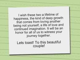 toast quotes wedding toast of honor niece speech sles search weure
