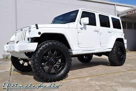 black rims for jeep wrangler unlimited jeep wrangler custom car gallery orlando fl