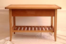 buy a custom cherry shaker style coffee table with drawer and