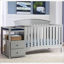 cribs with changing table and storage changing table with storage cribs silver country white convertible
