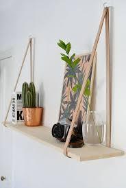 hanging wood shelves shelves ideas
