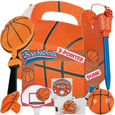 basketball party supplies basketball deluxe loot box with 7 toys party supplies canada