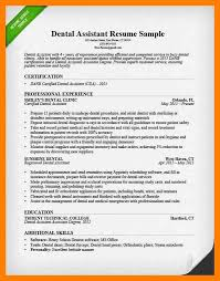 Orthodontic Resume 100 Dental Assistant Resumes Writing Your Assistant Resume