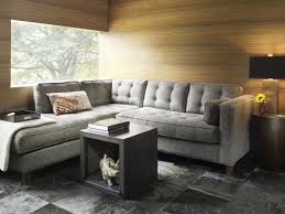 L Shaped Fabric Sofas Furniture Wonderful Home Furniture Design Ideas With Blue Gray