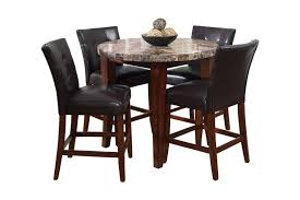bar stools 5 piece bar height dining set bistro table set indoor