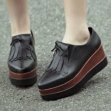 womens black boots sale amazon com minivog treaded sole platform womens loafer