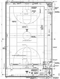 Floor Plan Elevations by Facility Construction Km Auxiliary Gym Floor Plan