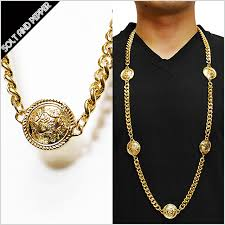 gold big chain necklace images Solt and pepper rakuten global market advance five coin jpg