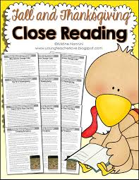 thanksgiving vocabulary words fall and thanksgiving close reading passages text dependent